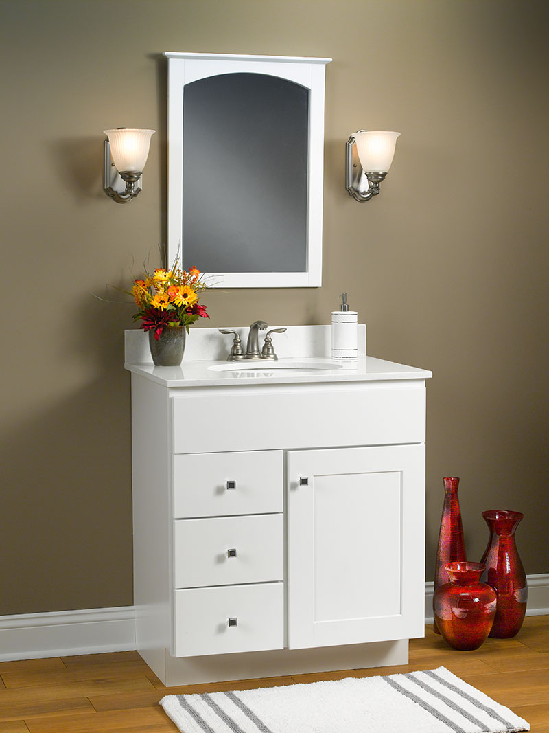 What Color Hardware For White Cabinets